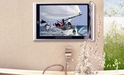 Телевизор в ванну своими руками